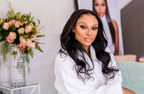 DJ Zinhle is exhausted