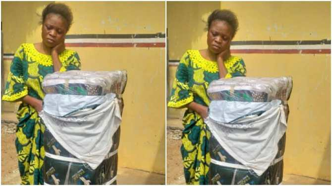 30-year-old woman arrested for alleged theft of N500,000 bundle of clothes in Kwara