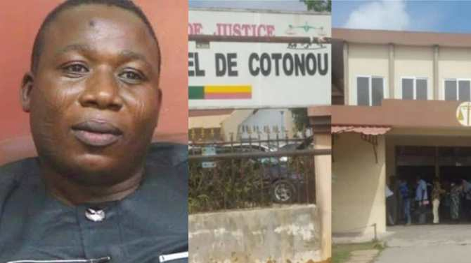 BREAKING: Sunday Igboho arrives Beninoise court for extradition hearing
