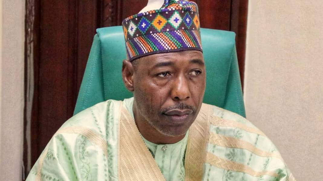 Borno governor, Zulum speaks on zoning 2023 presideny to the south