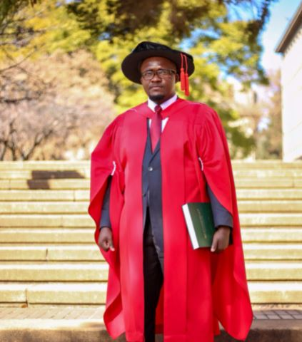 Local man graduates from Wits University after being hospitalized for two months