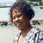Nthati Moshesh finally get vaccinated
