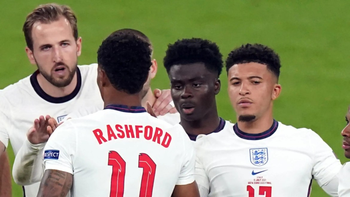 EURO 2020: Four arrested over online racial abuse of England players