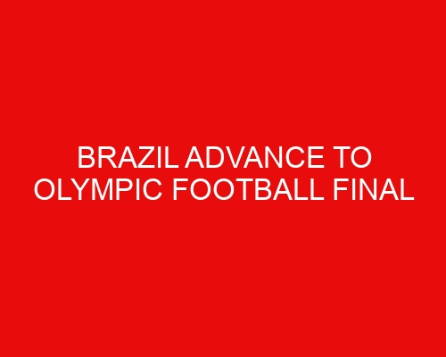 Brazil advance to Olympic football final following penalty win over Mexico