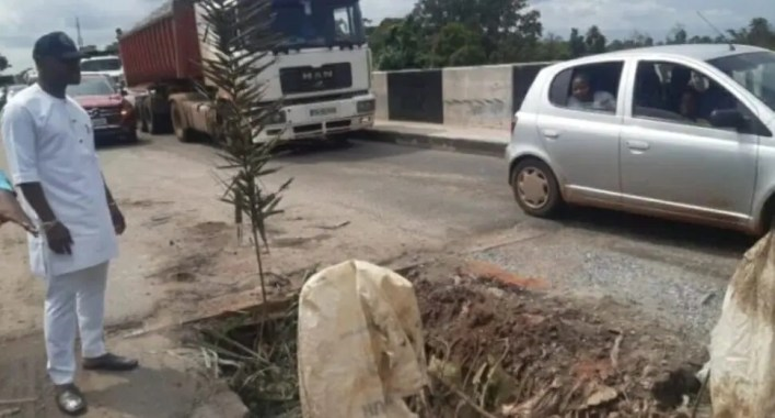 Rep Idahosa: Bridge along Lagos-Benin highway a disaster waiting to happen