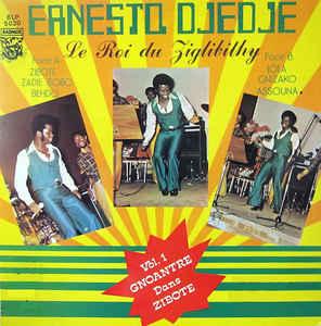 Ernesto Djedje - Le Roi Du Ziglibithy 70s IVORY COAST Soukous Music ALBUM