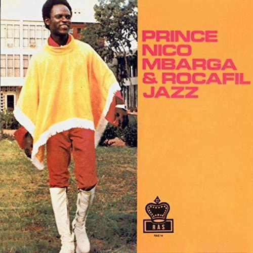 Prince Nico Mbarga & Rocafil Jazz Album Lp St