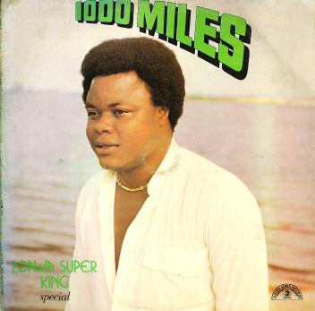 admiral dele abiodun - 1000 miles Album Lp