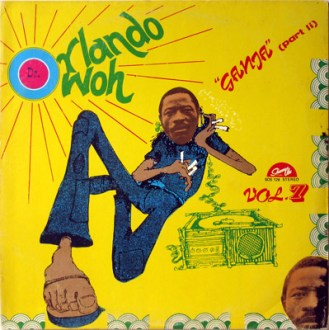 Dr. Orlando Owoh And His Afrikan Kenneries Beat International ‎– Vol. 7 Ganja (Part II) Album Lp