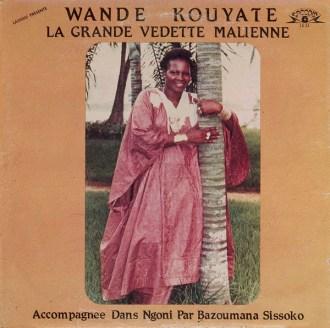 Wande Kouyate – La Grande Vedette Malienne album lp -afrosunny- mali african music online