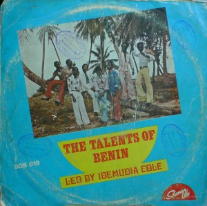 The Talents Of Benin Led By Idemudia Cole - (St) Ewakpe album lp -afrosunny-african music online benin