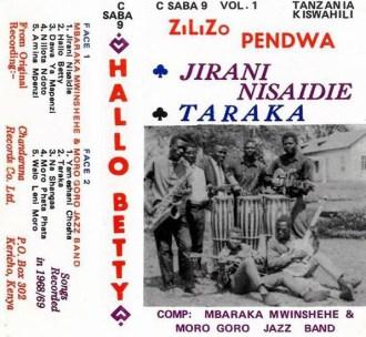 Mbaraka Mwinshehe & Moro Goro Jazz Band – Hallo Betty album lp -afrosunny