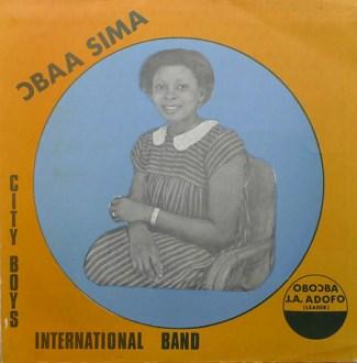 City Boys International Band – Ɔbaa Sima album lp