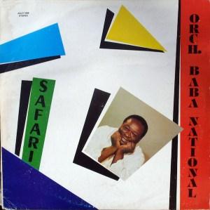 Orch. Baba National, Baba Gaston – Safari album lp kenyan music online