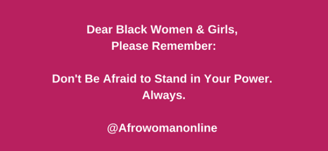 Dear Black women & girls voice meme