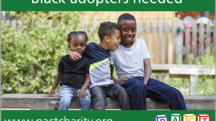 PACT adopting black children