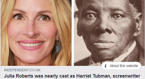 Harriet Tubman movie story