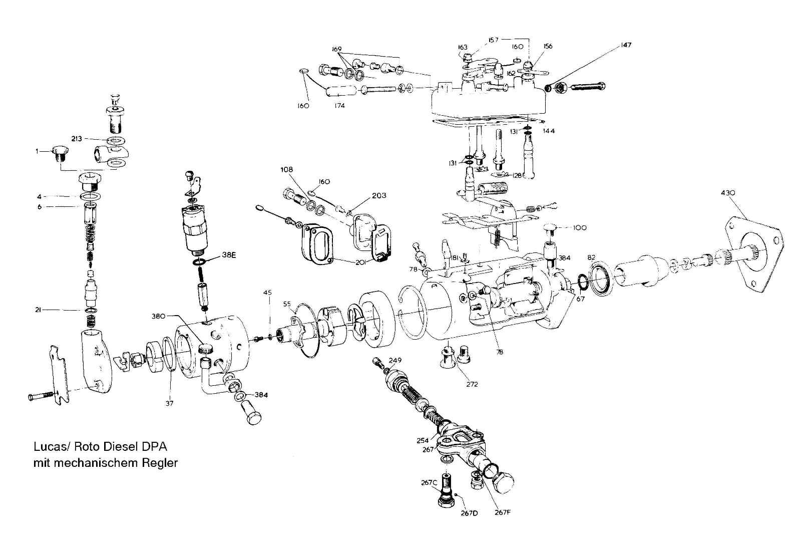 Engine Parts Exploded View, Engine, Free Engine Image For