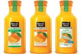 751 Minute Maid Orange Juice Bottle Harris Teeter Deal
