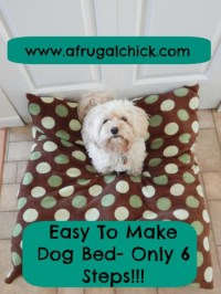 Build A Dog Bed