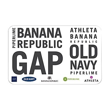 Staples: $25 Old Navy/Gap/Ban Republic E-Gift Card for $20