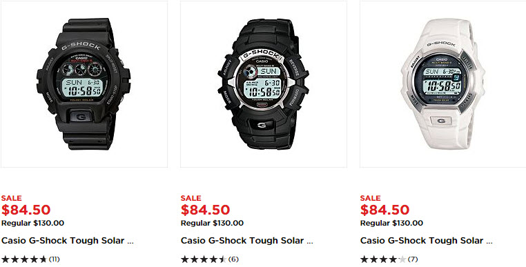 Kohl's: Casio Men's Watches Sale Plus Coupon Codes Plus