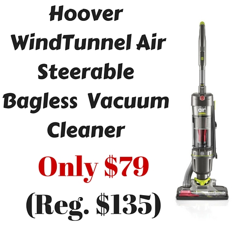 Amazon: Hoover WindTunnel Air Steerable Bagless Upright
