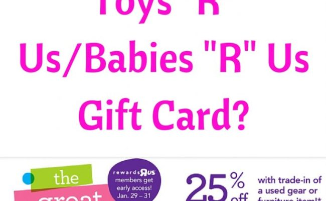 100 Babies R Us Gift Card Giveaway