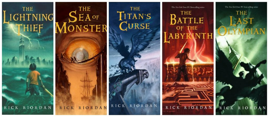 Image result for the percy jackson series