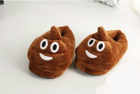 Amazon Cute Emoji Poop Slippers 1257