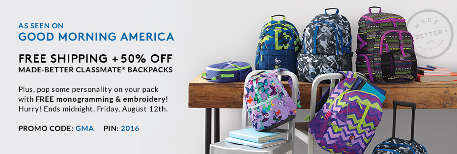 HOT SALE 50 Off Lands End Backpacks PLUS Free Shipping