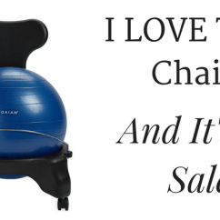 Ball Chair Amazon Dining Table 4 Chairs And Bench Gaiam Balance 54 99 I Have This Love It