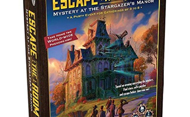 Amazon Escape The Room Stargazer S Manor Board Game 9 99