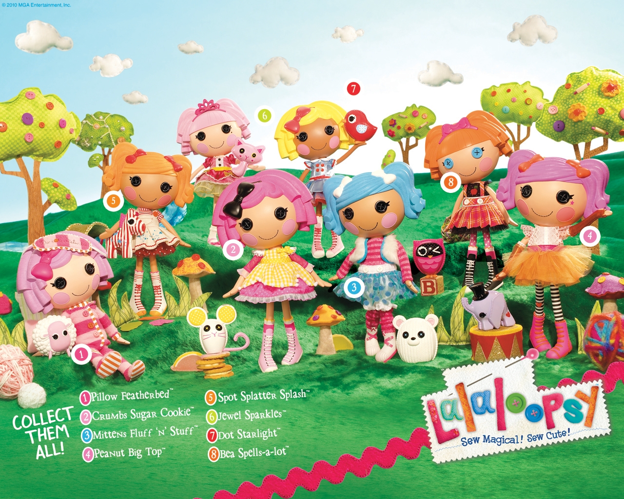 Nickelodeon Lalaloopsy TV Show