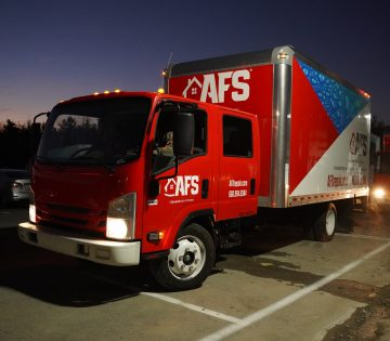 AFS Truck in parking lot