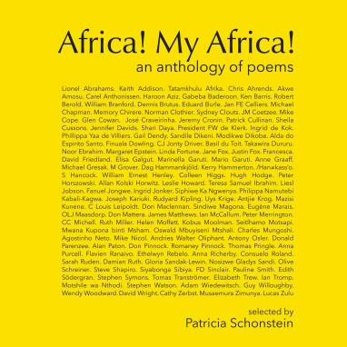 Cover of the poetry anthology, Africa My Africa