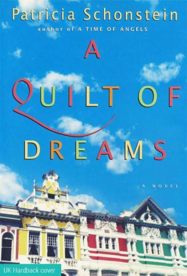 Front cover image of the novel, A Quilt of Dreams