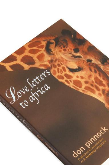 Cover detail of the book, Love Letters to Africa