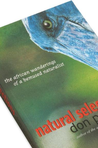Cover detail of the book, Natural Selections