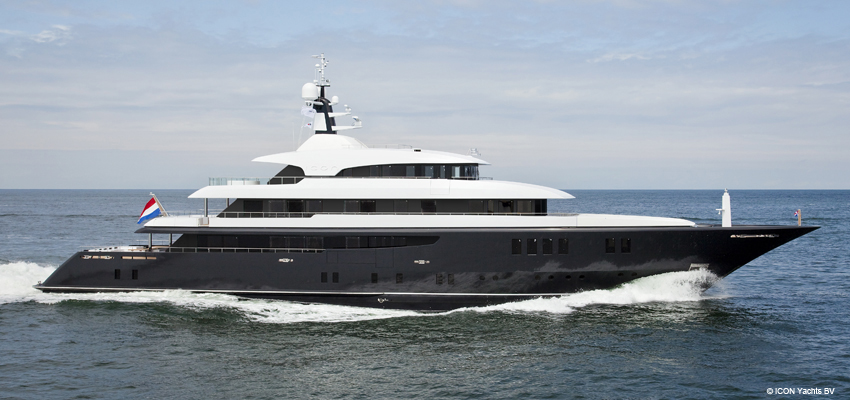 Icon Yachts Holland AFT RVS
