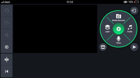 Green kinemaster interface
