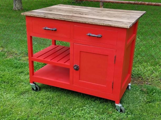 Customizable, Kitchen Island, Kitchen Storage, rolling