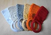 Crochet Towel Holder Rings   aftcra