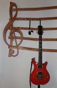 Wall Mounted Multi-Guitar wall hanger | aftcra