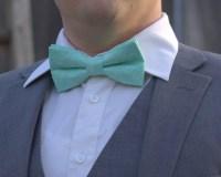 Mint Bow Tie   aftcra