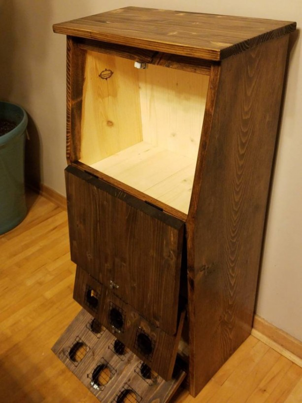 kitchen cupboard handles commercial island potato onion bin, ships within 10 days, vegetable bin ...