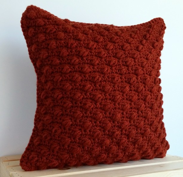 Rust Pillow Cover 16x16 Rust Throw Pillow Cover Rustic