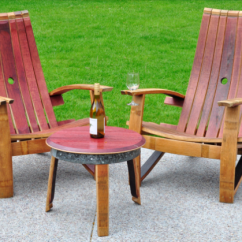 Adirondack Wine Barrel Chairs High Top Tables And Chair Aftcra