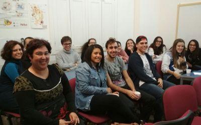 Sesión de cine en la Alianza Francesa