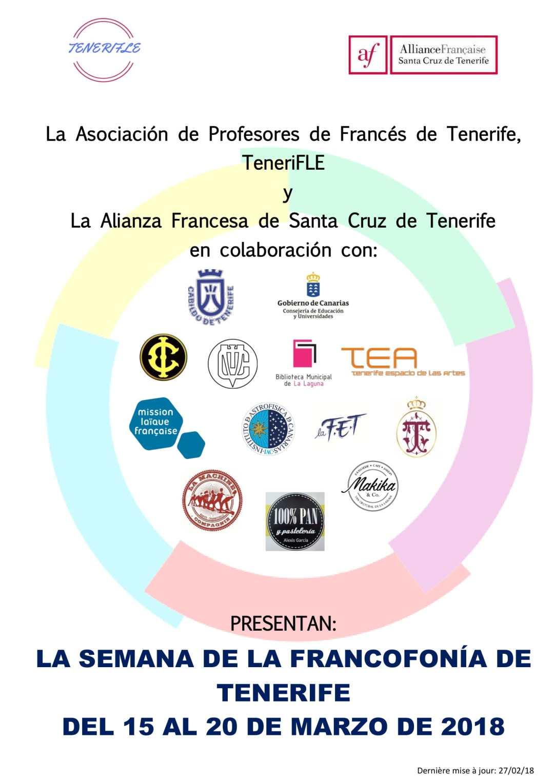 Programa de la semana de la francofonía